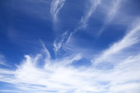 cirrus: cirrus clouds in the sky natural background