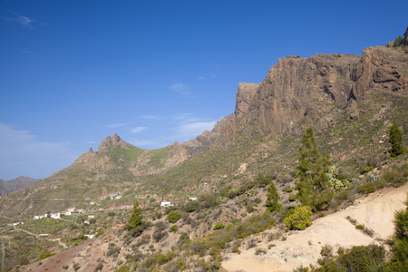Central Gran Canaria, area around Cruz Grande
