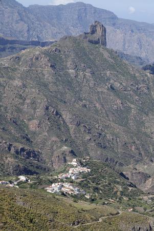 Central Gran Canaria in April, Roque Bentayga