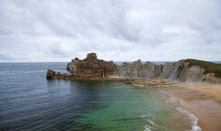 Cantabria, Costa Quebrada, rugged landscape around Liencres