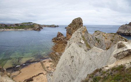 deposition: Cantabria, Costa Quebrada, rugged landscape around Liencres
