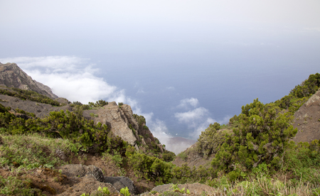 El Hierro, Canary Islands landscape from central montainous part of the island Stock Photo