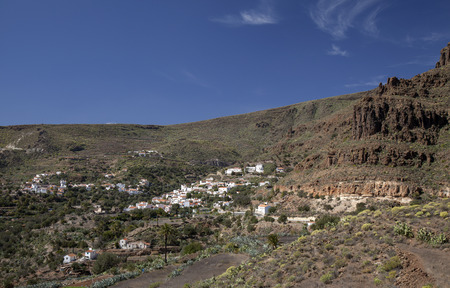Gran Canaria, February, landscape around Temisas hamlet in Aguimes municipality