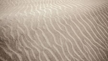 sand and wind pattern on  surface, Lanzarote, Canary Islands,