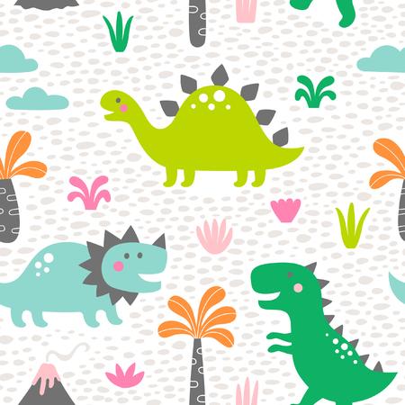 cute dinosaur pattern for kids