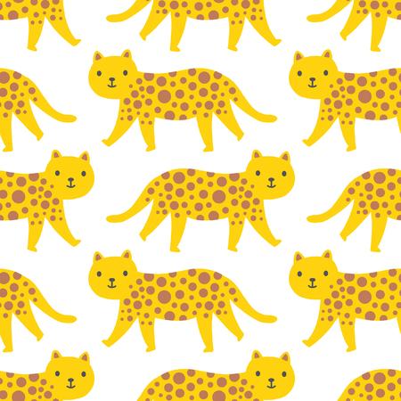 walking leopard pattern