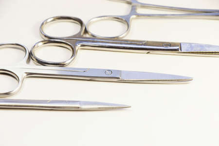 Dissection Kit - Premium Quality Stainless Steel Tools for Medical Students of Anatomy, Biology, Veterinary, Marine Biology with Scalpel Blades Included for Dissecting Frogs. Surgery instruments.Operation scissors. Stock fotó