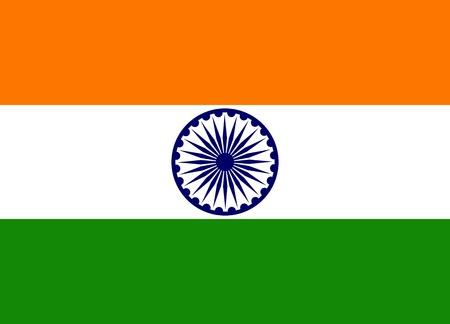 Indian Flag Illustration