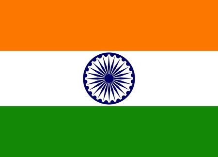 indien flagge: Indische Flagge