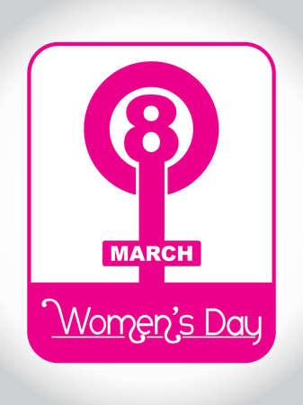 greeting cards International Women s Day: Creative yếu tố thiết kế cho 08 tháng 3 minh hoạ vector Hình minh hoạ
