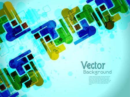 abstract modern designed colorful background. Vector