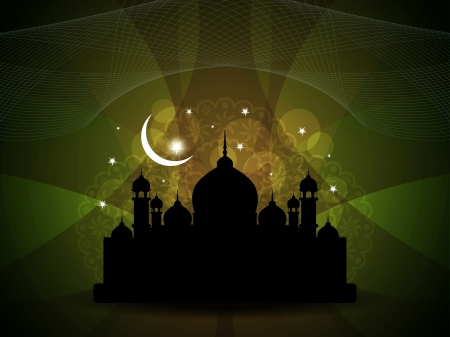 abstract religious eid background. Vector illustration Stock Vector - 16243003