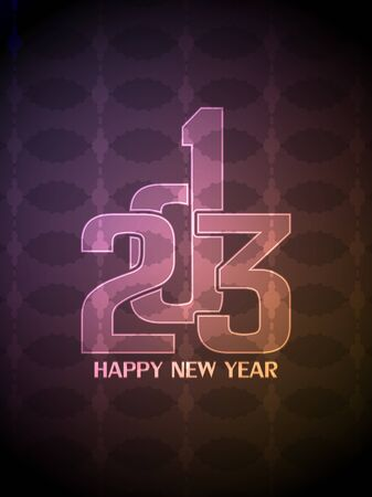 creative colorful happy new year 2013 design. Stock Vector - 16428438