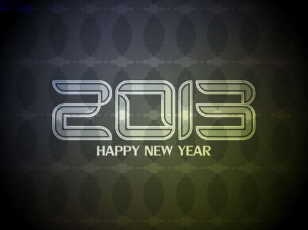 Colorful happy new year 2013 design. Stock Vector - 16566930