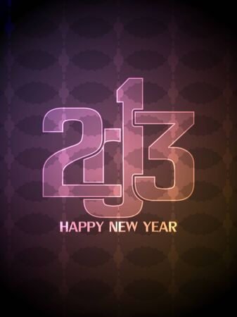 Colorful happy new year 2013 design. Stock Vector - 16572009