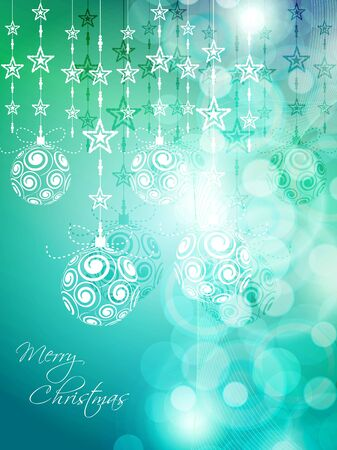 season: Colorful Christmas background