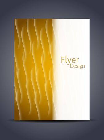 Presentation of creative flyer or cover design Stock Vector - 16930045