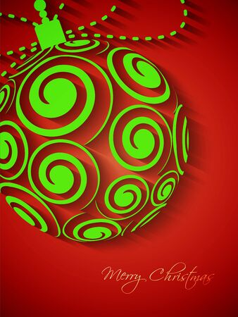twirling: Beautiful Christmas background Illustration