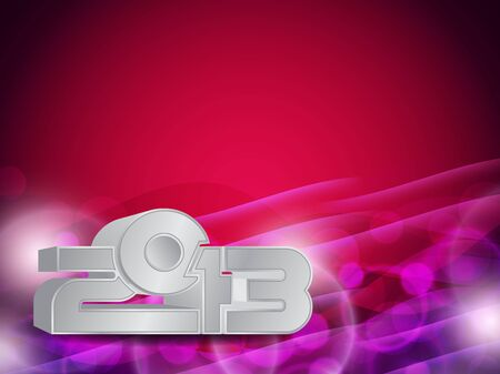Beautiful happy new year 2013 background design Stock Vector - 17070864
