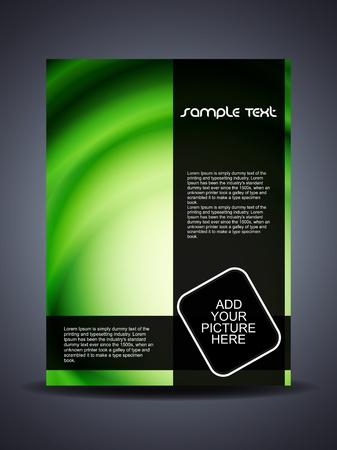 Presentation of creative flyer or cover design. Stock Vector - 17779743