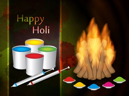 Beautiful background design for Indian festival Holi Stock Vector - 18242632