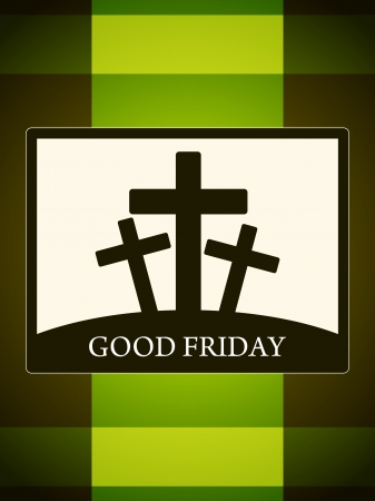 almighty: Abstract colorful religious background for good friday.