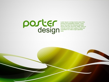 web banner: Abstract poster background with colorful design. vector illustration.