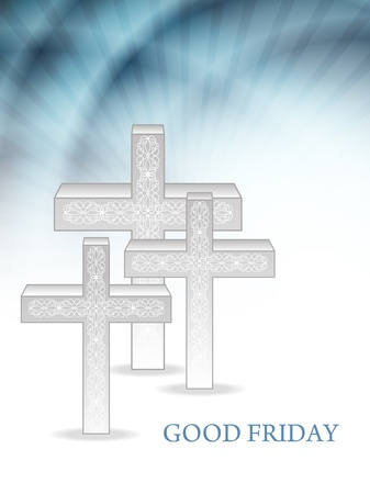 Elegant religious background for good friday Stock Vector - 18414912