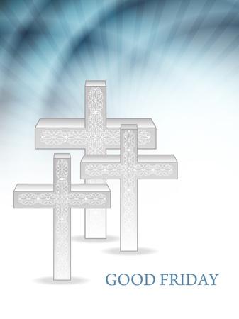 Elegant religious background for good friday Stock Vector - 18414912