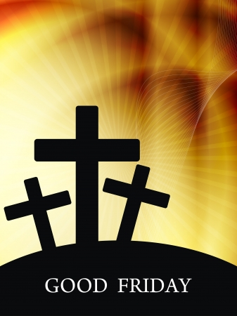 religious backgrounds: Elegant religious background for good friday