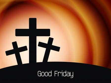 Elegant religious background for good friday