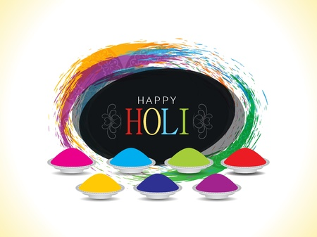 dhulandi: Colorful background design for Indian festival Holi