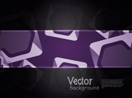abstract modern designed colorful background with black banner. Stock Vector - 18809502