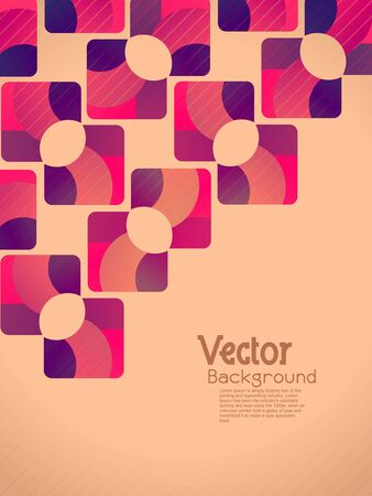 abstract beautiful retro designed background.