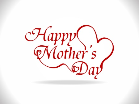mums: beautiful background for mothers day Illustration