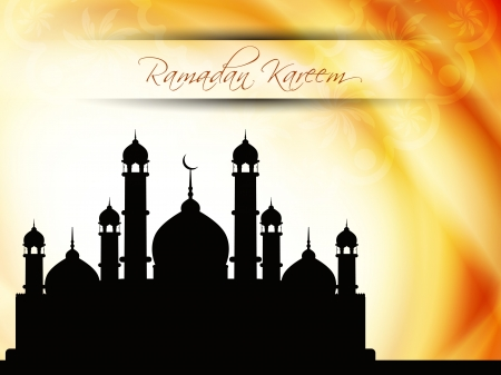 relegion: Abstract religious eid background with mosque