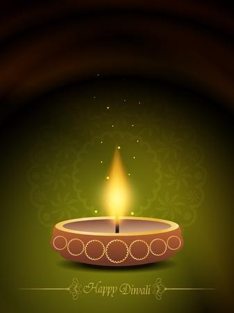 elegant background design for diwali festival Stock Vector - 20556632