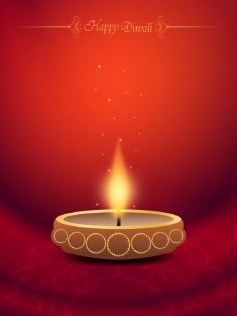 elegant background design for diwali festival Stock Vector - 20556629