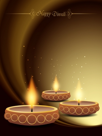 elegant background design for diwali festival Stock Vector - 20556631