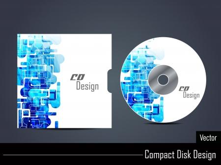 page couverture: Conception de la couverture de CD Illustration