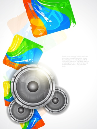 beautiful music theme modern designed background Stock Vector - 21299179