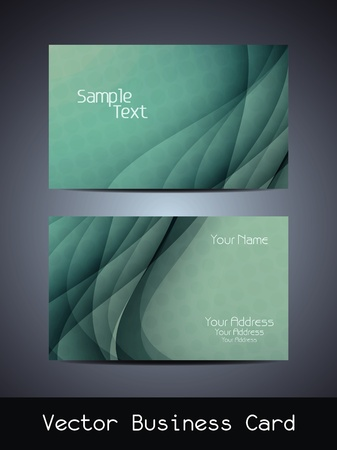 visiting card design: visiting card design