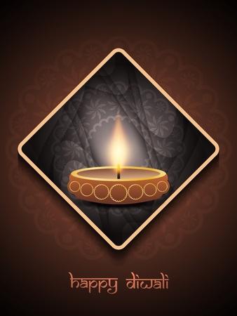 elegant background design for diwali festival Stock Vector - 21636140