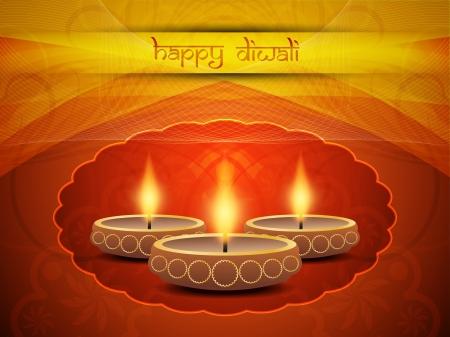 Beautiful background design for Diwali Stock Vector - 21810957