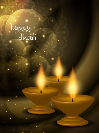 religious background design for Diwali  Stock Vector - 21810976