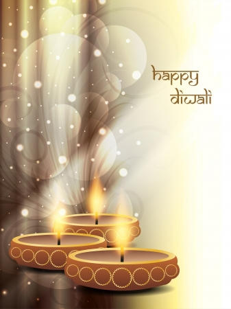 diwali celebration: religious background design for Diwali  Illustration