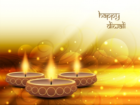diya: dise�o de fondo religioso de Diwali