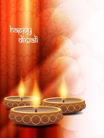 diwali background: religious background design for Diwali  Illustration
