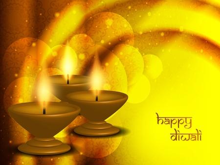 religious background design for Diwali  Illustration