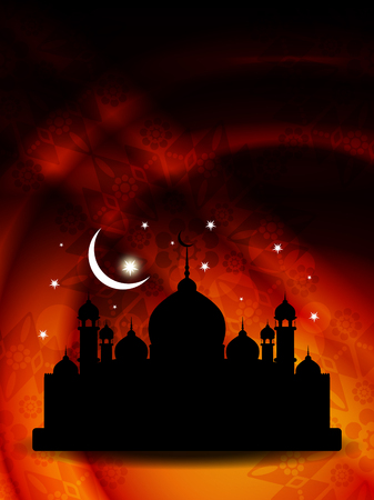 relegion: religious eid illustration  Illustration